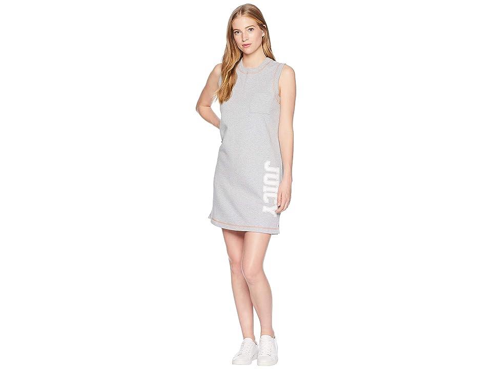 Juicy Couture Juicy Logo Terry Tank Dress (Heather Cozy) Women