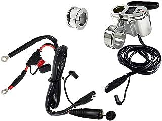 EKLIPES EK1-110 Cobra Chrome Ultimate سیستم شارژ USB موتور سیکلت