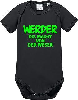 Ezyshirt Werder die Macht von der Weser Baby Body Shortsleeve