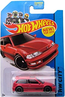 2014 Hot Wheels Hw City 30/250 - 1990 Honda Civic EF
