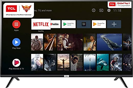 TCL 80 cm (32 inches) HD Ready Certified Android Smart LED TV 32P30S (Black) 1
