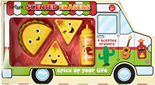 Smiggle Taco Truck Scented Erasers Box X4