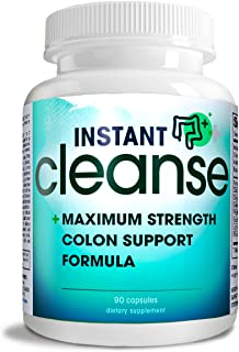 Instant Cleanse - Complete Triple Strength Activated Colon Cleansefor Optimal Colon Health and Colon Care.
