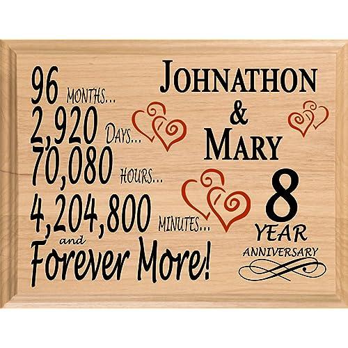8th Wedding Anniversary Gift For Her: 8 Year Anniversary Gifts: Amazon.com