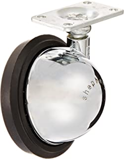 Cylficl 2.5 Inch 3 Inch Caster X1 Flatbed Universal Wheel Furniture Oriented Cart Wheel Heavy Metal Mute with Brake Color : A, Size : 3 inch