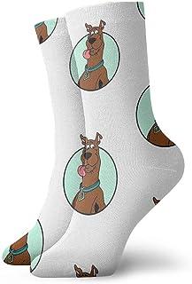 Popweek01 Scooby-Doo - Calcetines de trabajo para hombre o mujer (11,8 pulgadas)