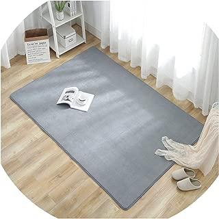 Kids Bedroom Play Mat Short Plush Living Room Floor Carpet Bath Rugs Anti-Slip Kitchen Carpet Bathroom Mat,Duan Yukun,About 80X200cm