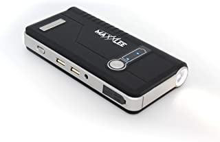 Maxxlee 600A Battery Charger Jump Starter Portable 24000mAh 12V Vehicle Car 16L/MIN LED Torch Power Bank 5.8L Petrol & 3.0...
