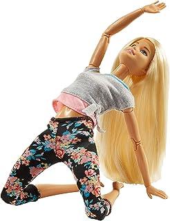 Barbie Bambola Snodata, 22 Punti Snodabili per Infiniti Movimenti, per Bambini 3+ Anni, FTG81