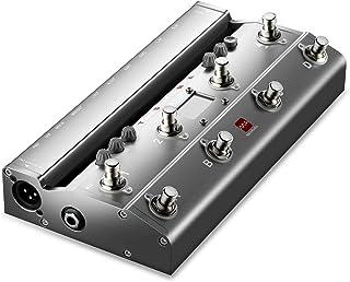Meloaudio Cambiador de Tonos TS Mega Audio con Pedal MIDI e Interfaz de Grabación de audio USB de 192kHz para iPhone, iPod, iPad, Mac, Bias FX, JamUp, Guitar Rig