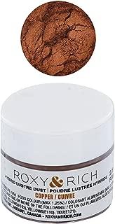 Edible Hybrid Luster Dust, Copper, 2.5 Grams by Roxy & Rich