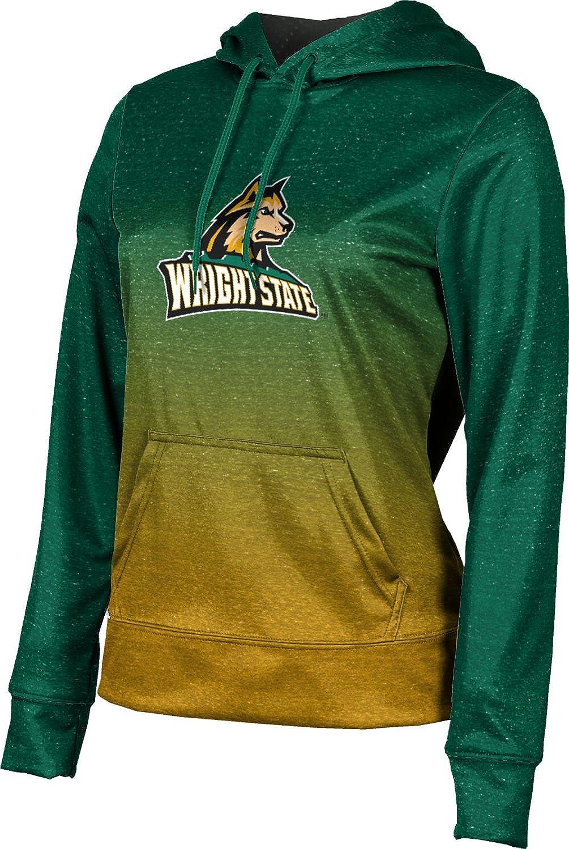 ProSphere Wright State University Girls' Pullover Hoodie, School Spirit Sweatshirt (Ombre)