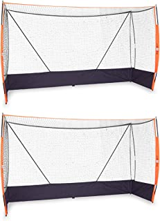 Bownet Official Size Portable Field Hockey Goal - 2 Goal Bundle
