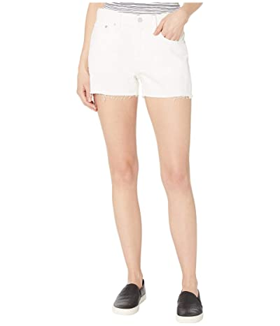 Lucky Brand Mid-Rise Relaxed Shorts in Bright White (Bright White) Women