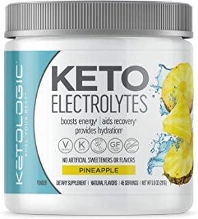 Sponsored Ad - KetoLogic Keto Electrolyte Powder: Sugar Free Electrolyte Supplement for Rapid Hydration, Recovery, Cramps ...