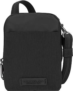 Sponsored Ad - Travelon: Anti-Theft Metro Stadium Mini Crossbody Bag - Black