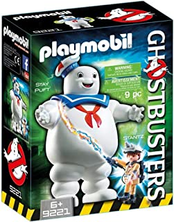 PLAYMOBIL 9221 Ghostbusters Stay Puft Marshmallow Man toy figure playsets, Multi, 1 Piece