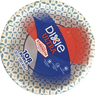 Dixie Ultra Paper Bowls (20 oz 108 Count Blue Checkered)