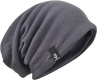 HISSHE Men's Slouch Slouchy Beanie Oversize Summer Winter Skull Cap N010