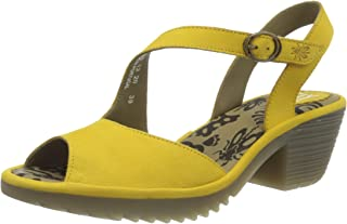 Fly London Wyno023fly, Sandales Bout Ouvert Femme