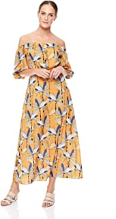 Trendyol Straight Dress for Women - Brown, Size L