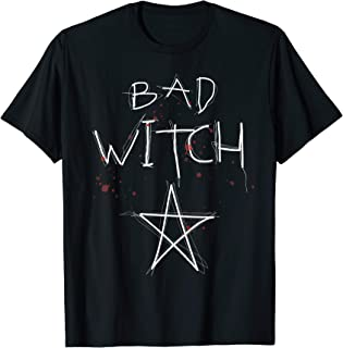 Bad Witch Blood Splatter Bewitched T-Shirt
