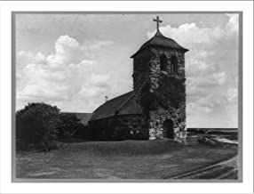 Historic Print (L): St. Ann's by the Sea, Kennebunkport, Maine