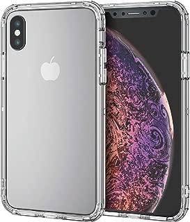 エレコム iPhone X / XS ケース 衝撃吸収 TRANTECT ハイブリッド バンパー [iPhone を美しく守る。] クリア PM-A18BHVBCR