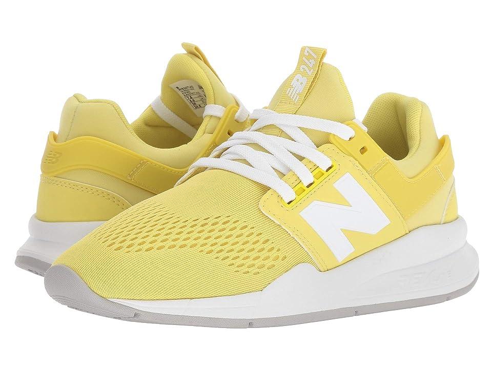 New Balance Classics WS247v2-USA (Lemonade/White) Women's Shoes