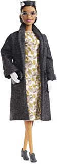 ?Barbie Inspiring Women Series Rosa Parks Collectible Barbie Doll, Wearing Fashion and Accessories, with Doll Stand and Certificate of Authenticity