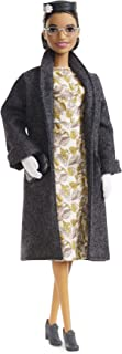 ​Barbie Inspiring Women Series Rosa Parks Collectible Barbie Doll, Wearing Fashion and Accessories, with Doll Stand and Certificate of Authenticity