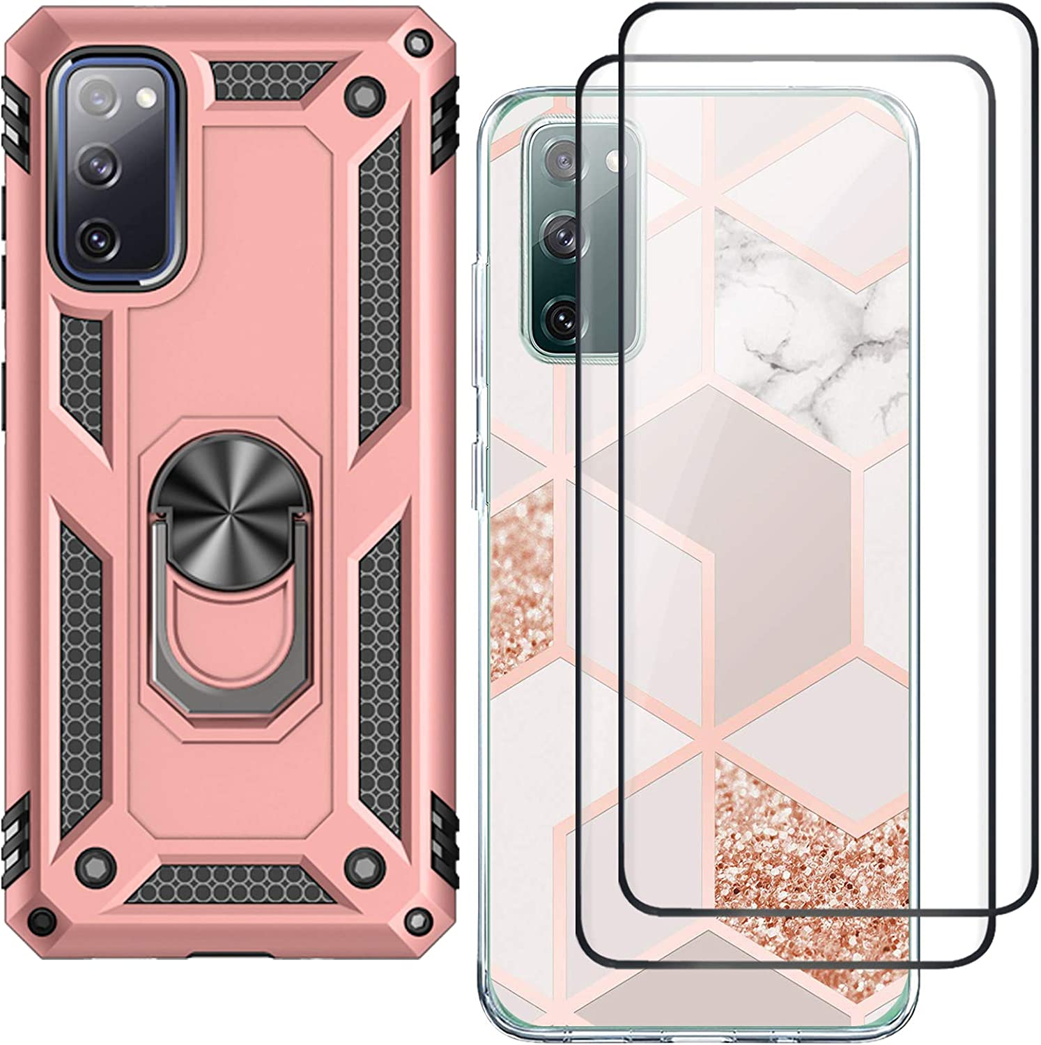 S20 FE Case with Animer and price revision Kickstand Protector Screen f Samsung for Super sale