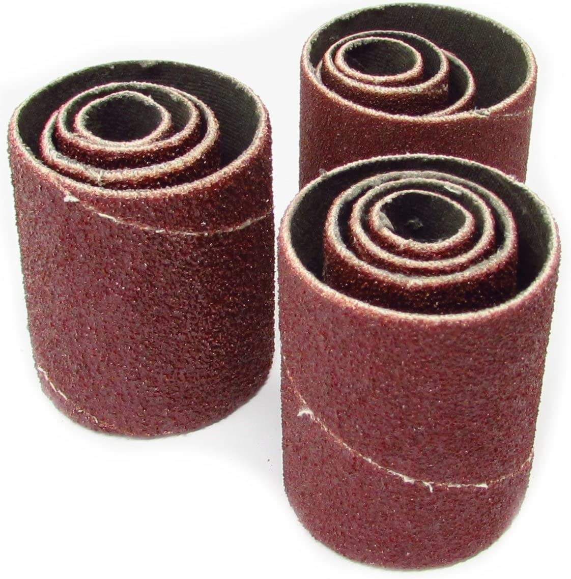 2-inch Long Spindle Bombing new work Sanding Sleeves Coarse 60 of At the price Grit Pack 12
