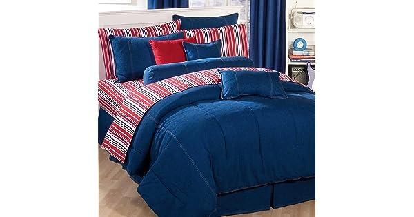 Springfield Bedding American Denim King Comforter Only Kimlor Mills 09009500071KM