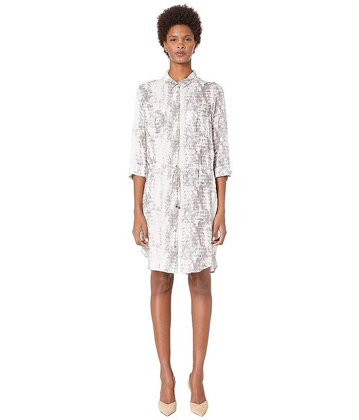 Heidi Klein Alhambra Mini Shirtdress (Print Snake) Women