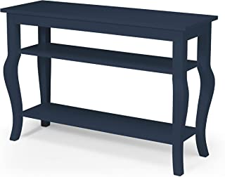 amazon com blue sofa console tables tables home kitchen rh amazon com navy blue sofa table blue sofa table lamps