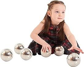 silver sensory balls