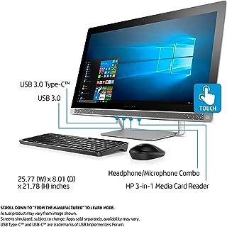 2017 HP Pavilion 27 TOUCH Desktop 1TB SSD 32GB RAM EXTREME (Intel Core i7-7700K processor 4.20GHz TURBO to 4.50GHz, 32 GB RAM, 1 TB SSD, 27