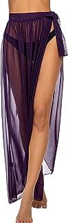ADOME Women Swimsuit Cover Up Beach Wrap Skirt Swimwear Bikini Cover-ups Maxi Dress