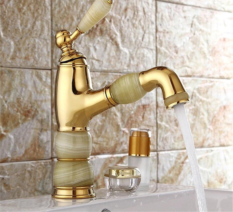 Bijjaladeva Wasserhahn Bad Wasserfall Mischbatterie Waschbecken WaschtischDas Hotel ist Einem dedizierten High-End-Becken Ziehen Wasserhahn Ziehen Taps Jade Dragon Head Ein