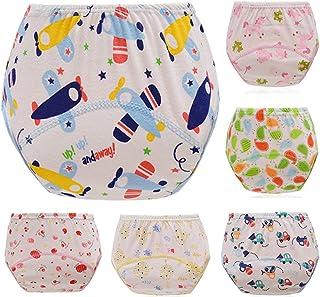 ElecMotive Pack de 6 Pantalones de Entrenamiento para Bebés