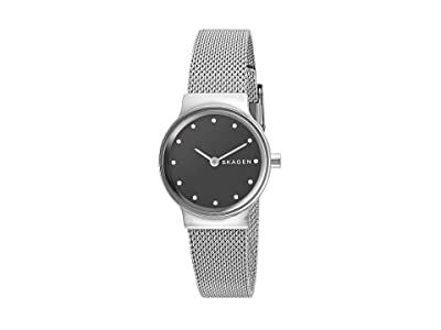 Skagen Freja Two-Hand Stainless Steel Mesh Watch (SKW2667 Silver Stainless Steel Mesh) Watches