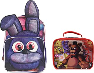 Five Nights at Freddy's 3D Bonnie Backpack + Insulated Lunch Bag