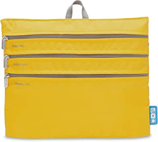 Flight 001 Seat Pak, Lemon Chrome