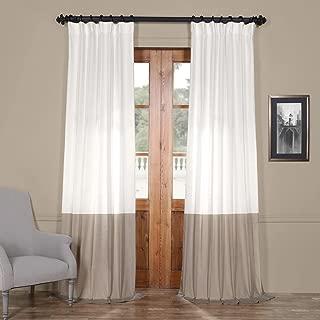 Best color block curtains Reviews