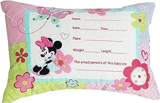 baby announcement pillow