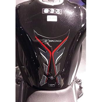 Protezioni Laterali Serbatoio Adesivi 3d Per Moto Kawasaki Er-6n 2007-11