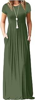 Best short sleeve long maxi dress Reviews