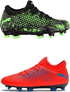 Official Brand Puma Future 19.4 Firm Ground Football Boots Childs Soccer Cleats Shoes