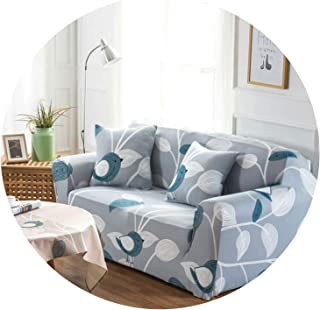 Sofa-Slipcovers 1/2/3/4-Seater Flexible Stretchy Sofa Cover Big Elasticity Couch Cover Slipcover Furniture Protector 1Pc,Color 3,3 Seater